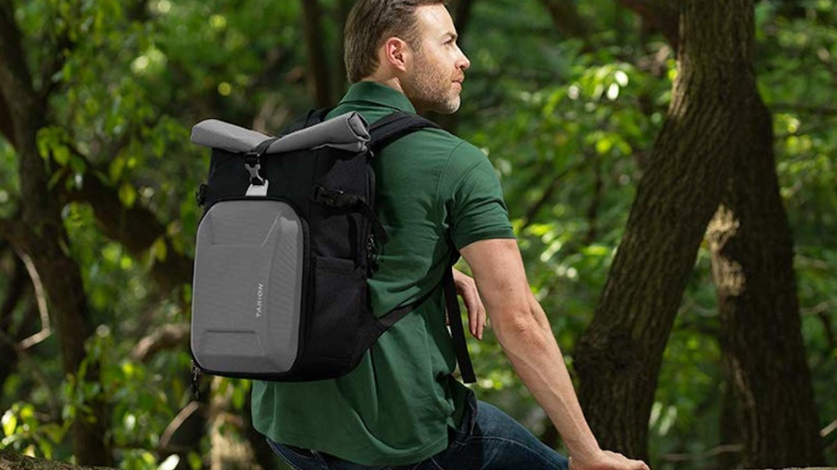 TARION XH Hard-Shell Camera Backpack protects your photography gear in the outdoors