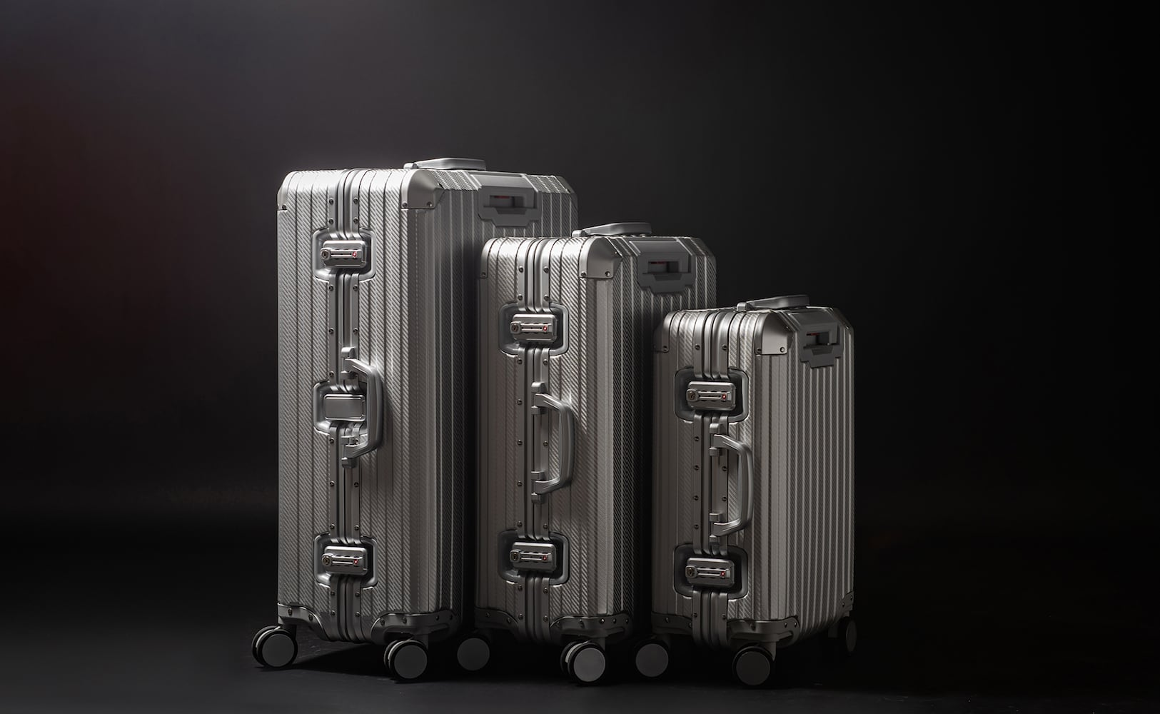 TREK Aluminum Suitcases by MVST Select are luxurious and unbreakable