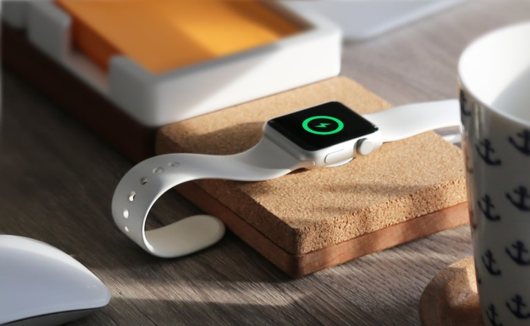 TYDY Wireless Charging Desktop Organizer sorts all your devices and workspace clutter
