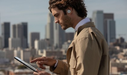 Microsoft Surface earbuds in-ear