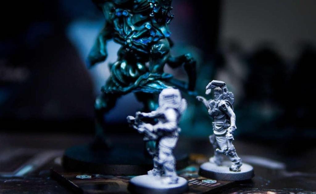 Nemesis is a semi-cooperative sci-fi horror board game
