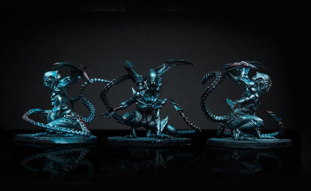 Each Nemesis game piece is loaded with detail
