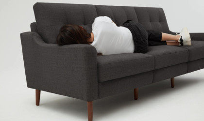 Nomad Sofa has a 72-inch charging cable