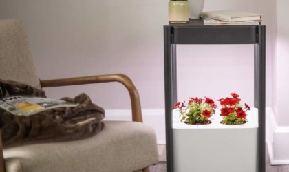 Hydroponic garden comes with built-in lights
