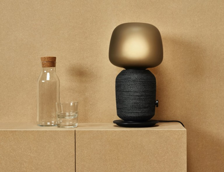 Symfonisk Lamp combines a speaker and lamp in one
