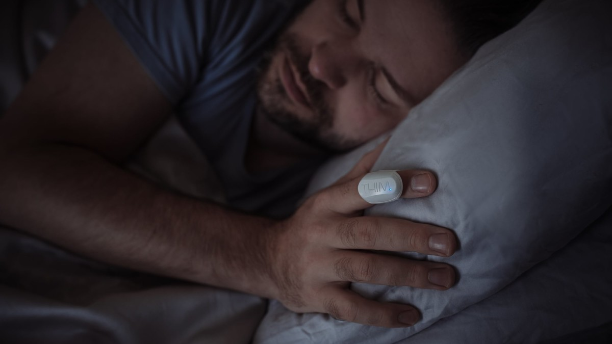 Thim Sleep-Tracking Ring helps you get more sleep throughout the night