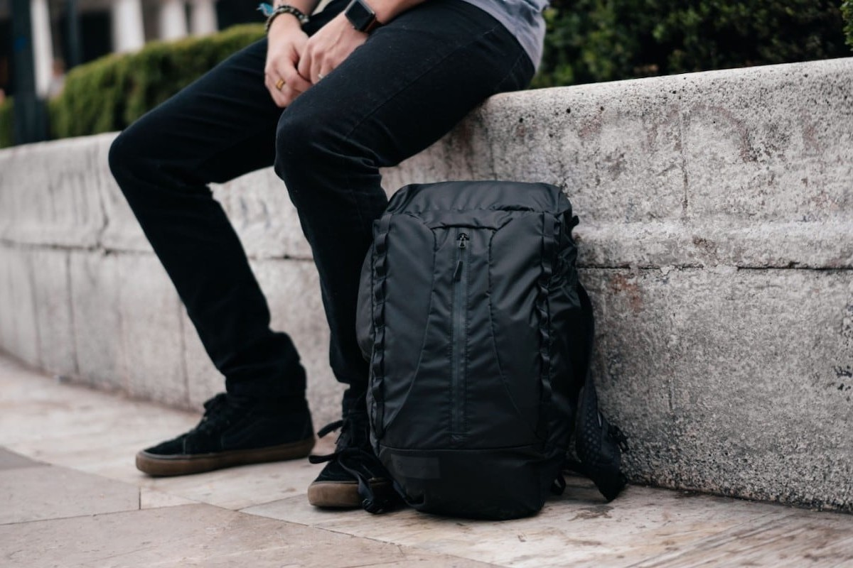 WANDRD VEER Packable Bag Inflatable Backpack provides extra support for your back