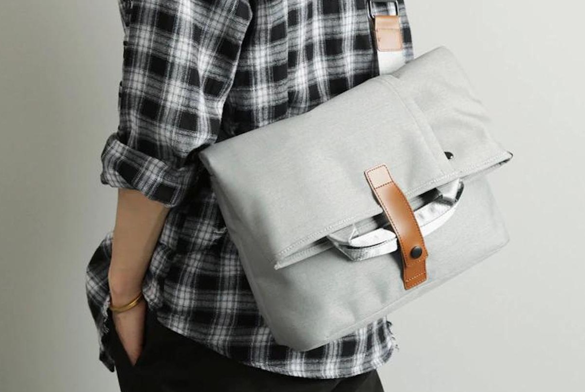 Waterproof Cross-Body Messenger Bag protects your gear in style