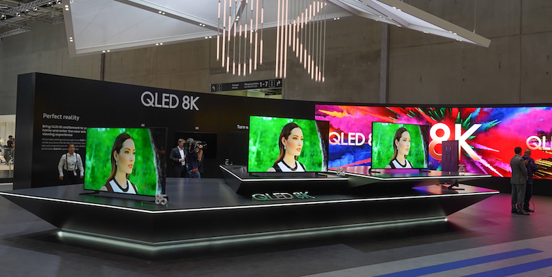 Samsung's 8K TV Display at IFA