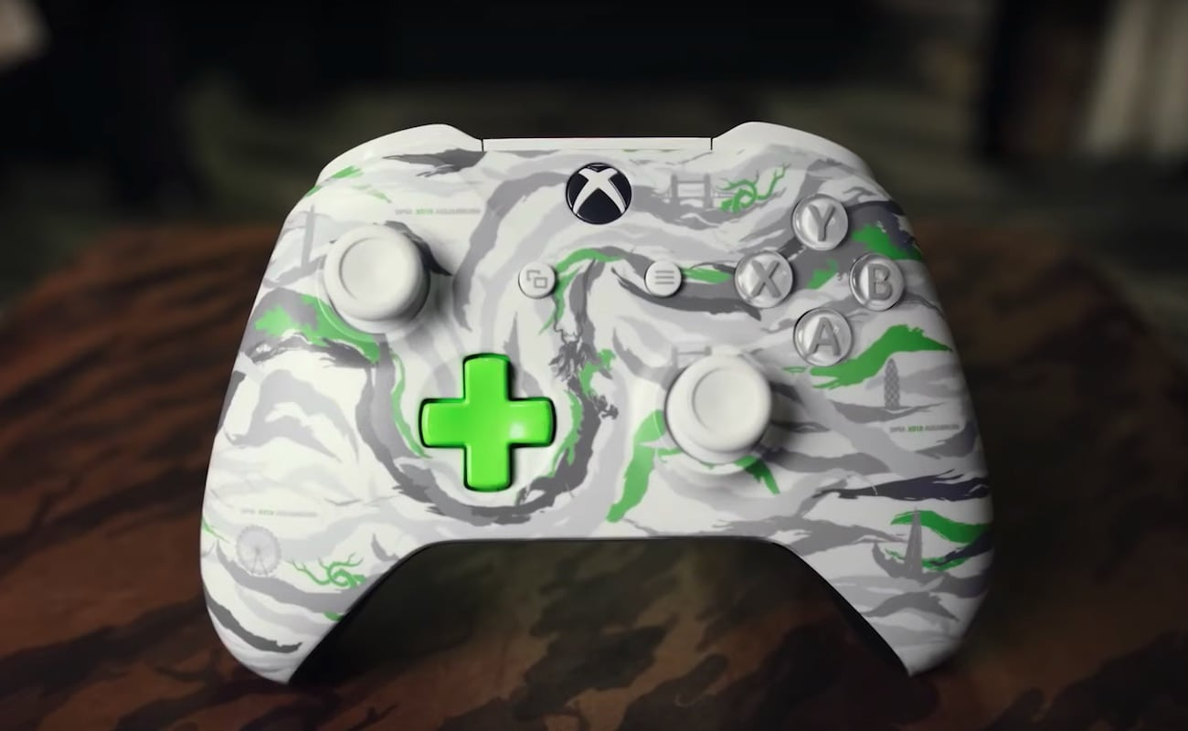 Xbox DPM X019 Exclusive Wireless Controller is inspired by camouflage streetwear