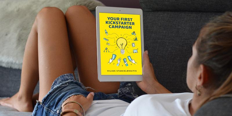 Your First Kickstarter Campaign eBook Sample
