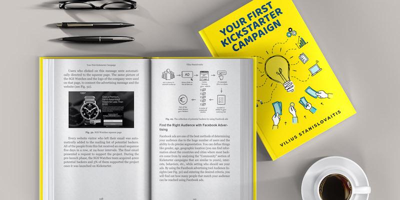 Your First Kickstarter Campaign Book Sample