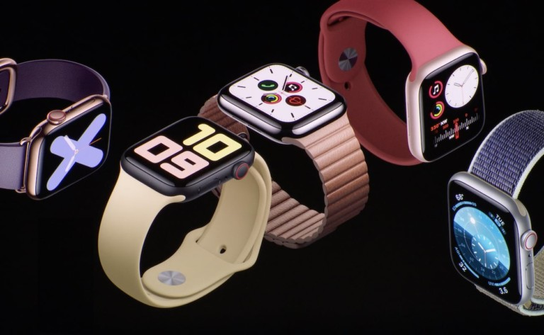 Apple Watch 5 Colors