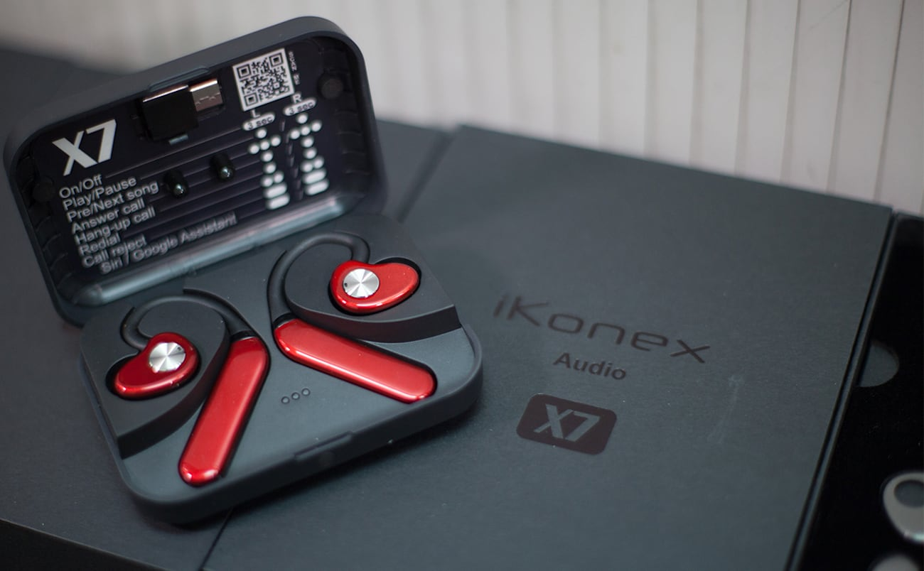 iKonex X7 Personalized Wireless Earbuds bring you a theater-like experience