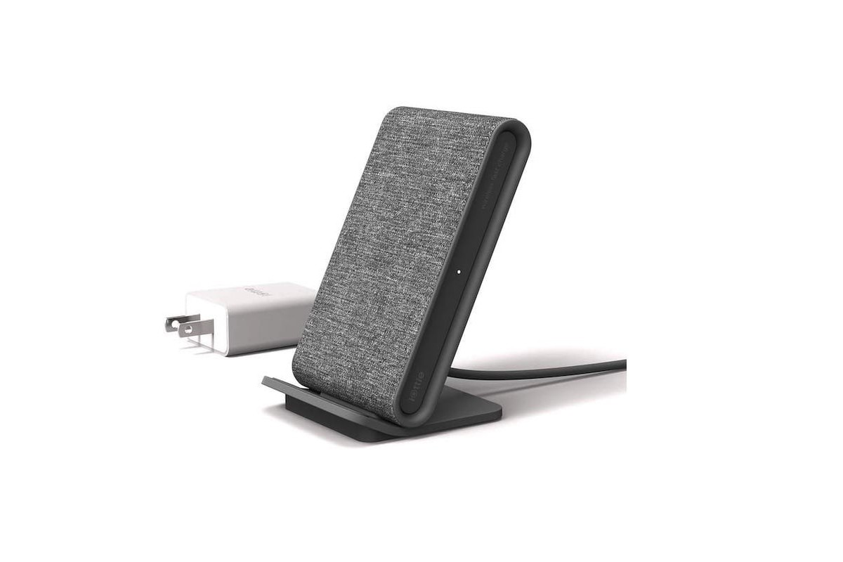 iOttie iON Wireless Stand Fast Charger works with phone cases up to 7 millimeters thick