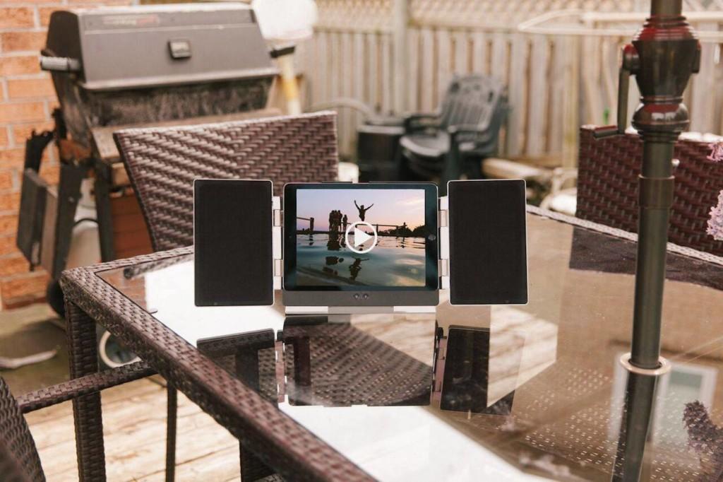 ipad stands - OIO Amp iPad Speaker Stand 2
