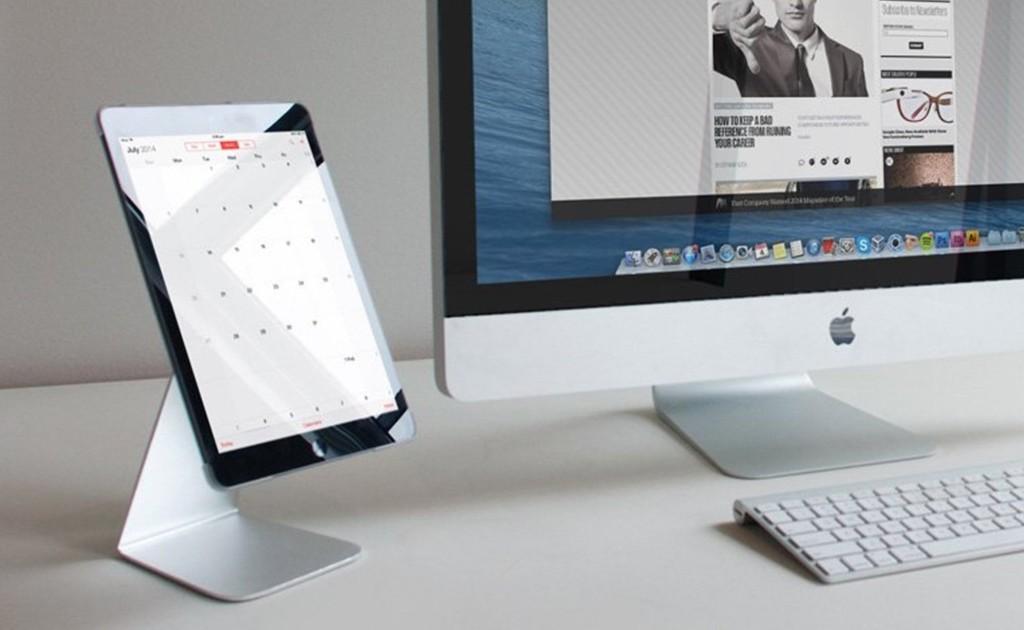 ipad stands - Proper iPad Pivot Stand Swiveling Tablet Holder