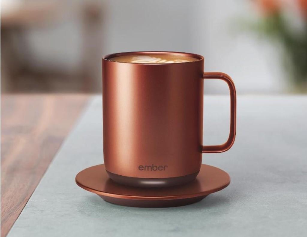 smart gadgets - Ember Connected Copper Mug