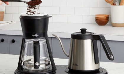 smart gadgets - Mr. Coffee BVMC-PO19B Pour-Over Coffee Maker