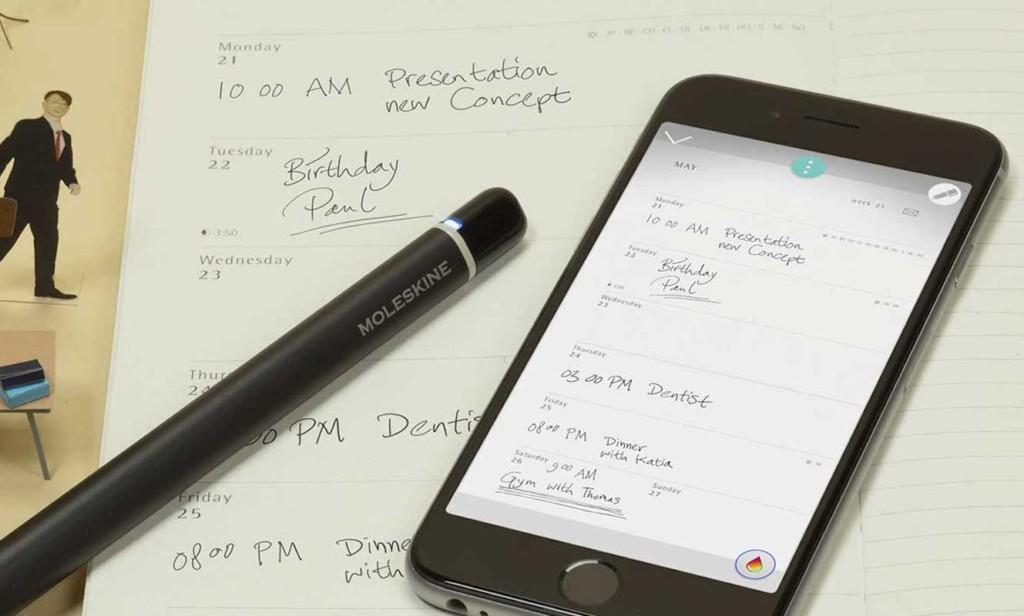 useful gadgets 2019 - Moleskin Pen Plus Ellipse Smart Pen 02