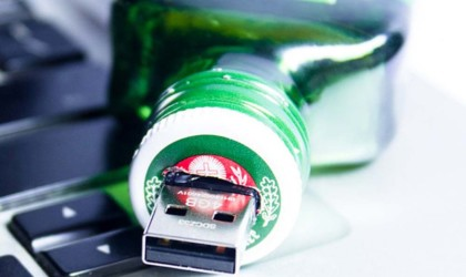weird gadgets - Jagermeister Themed Flash Drive USB 1