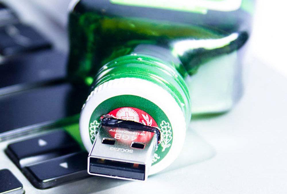 weird gadgets - Jagermeister Themed Flash Drive USB 1