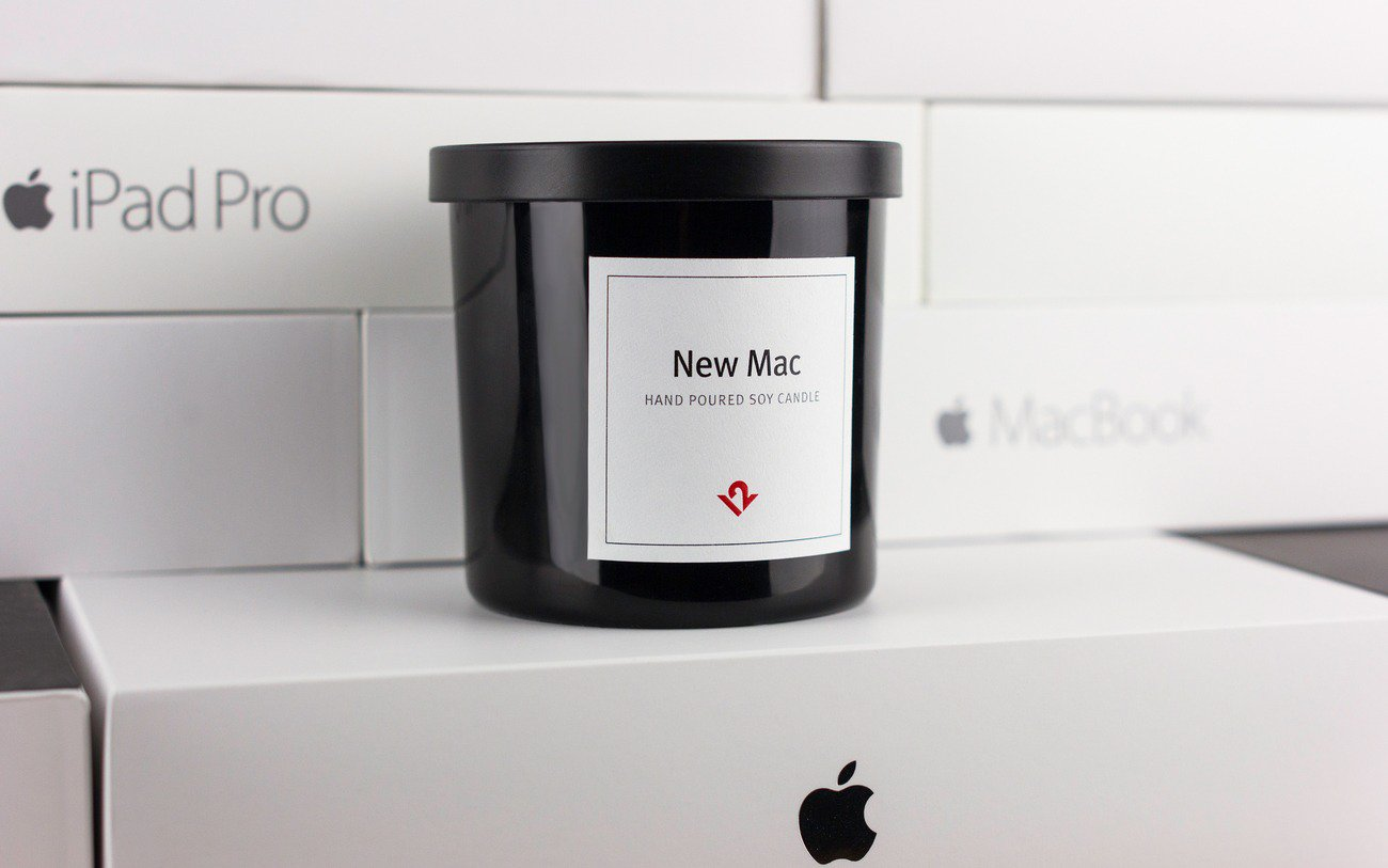weird gadgets - New Mac Candle