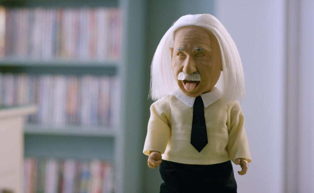 weird gadgets - Professor Einstein AI Talking Robot