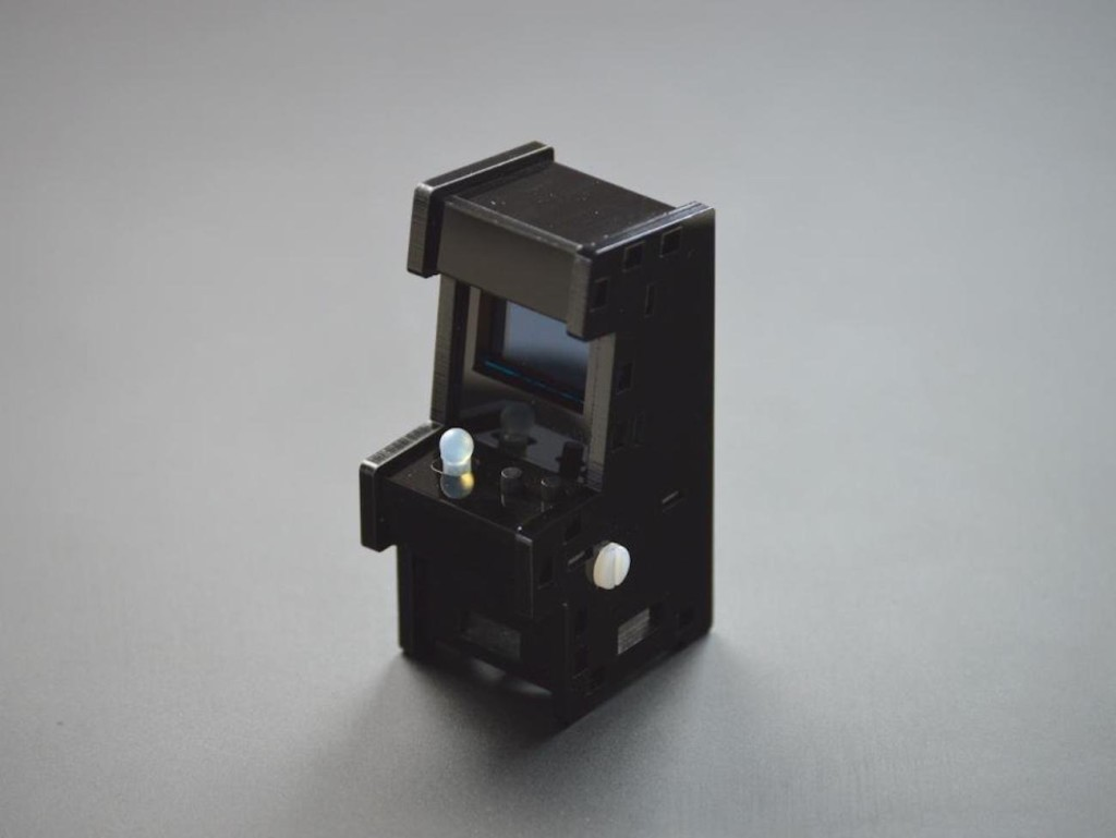 weird gadgets - Tiny Arcade Retro Playable Game Cabinet
