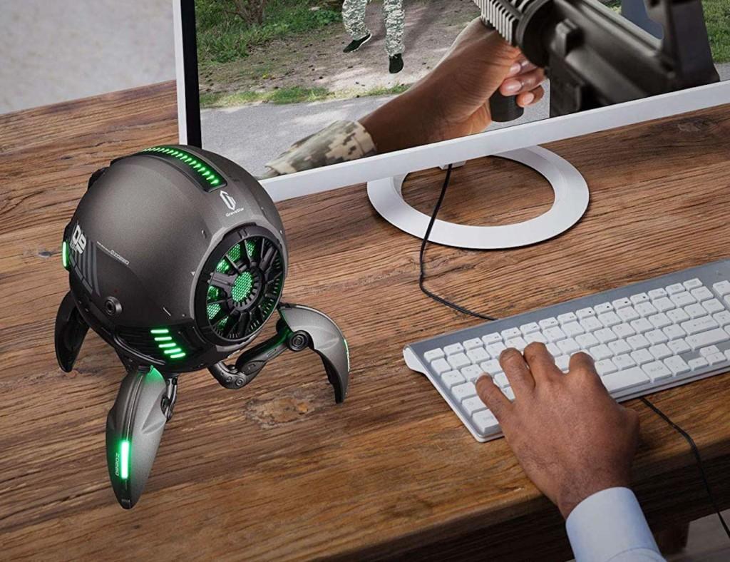 weird gadgets - Zoeao GravaStar Robotic Bluetooth Speaker 1