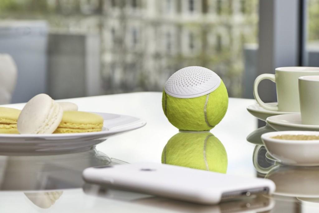 weird gadgets - hearO Wimbledon Tennis Ball Speaker