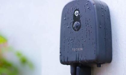 Outdoor smart plug in the rain