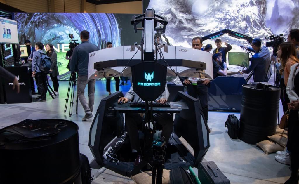 Acer Predator cockpit