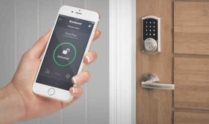 Kwikset lock paired with phone
