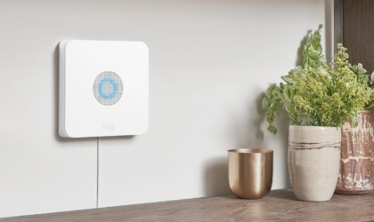 Ring detector on a wall