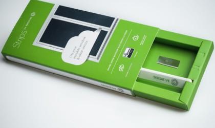 Sensative in its green box