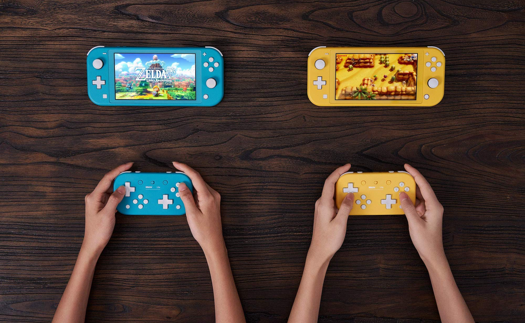 8Bitdo Lite Retro Bluetooth Gamepad works with multiple gaming platforms