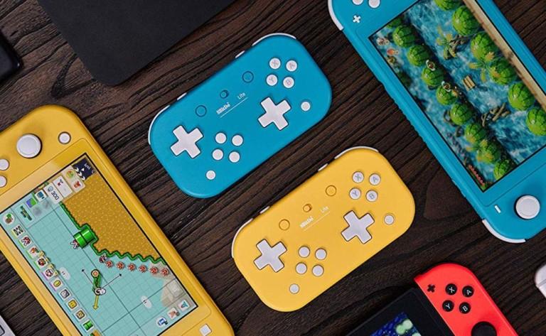 8Bitdo Lite Retro Bluetooth Gamepad works with multiple gaming platforms
