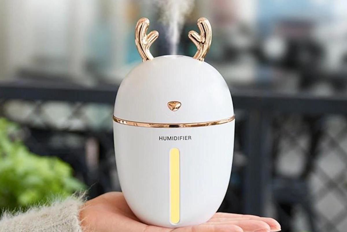 Adorable Antler USB Essential Oil Diffuser will look cute anywhere