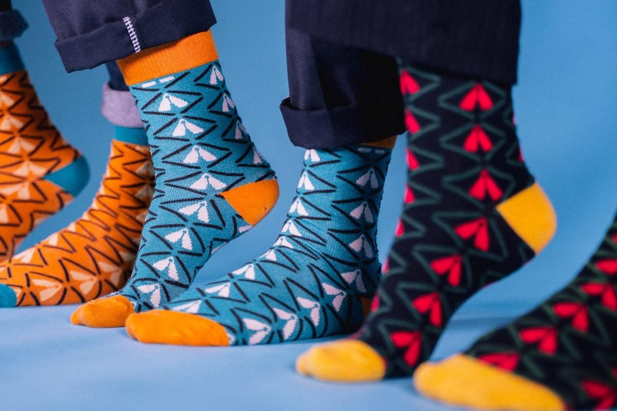 Akuko African Pride Bamboo Socks help your feet stay cool