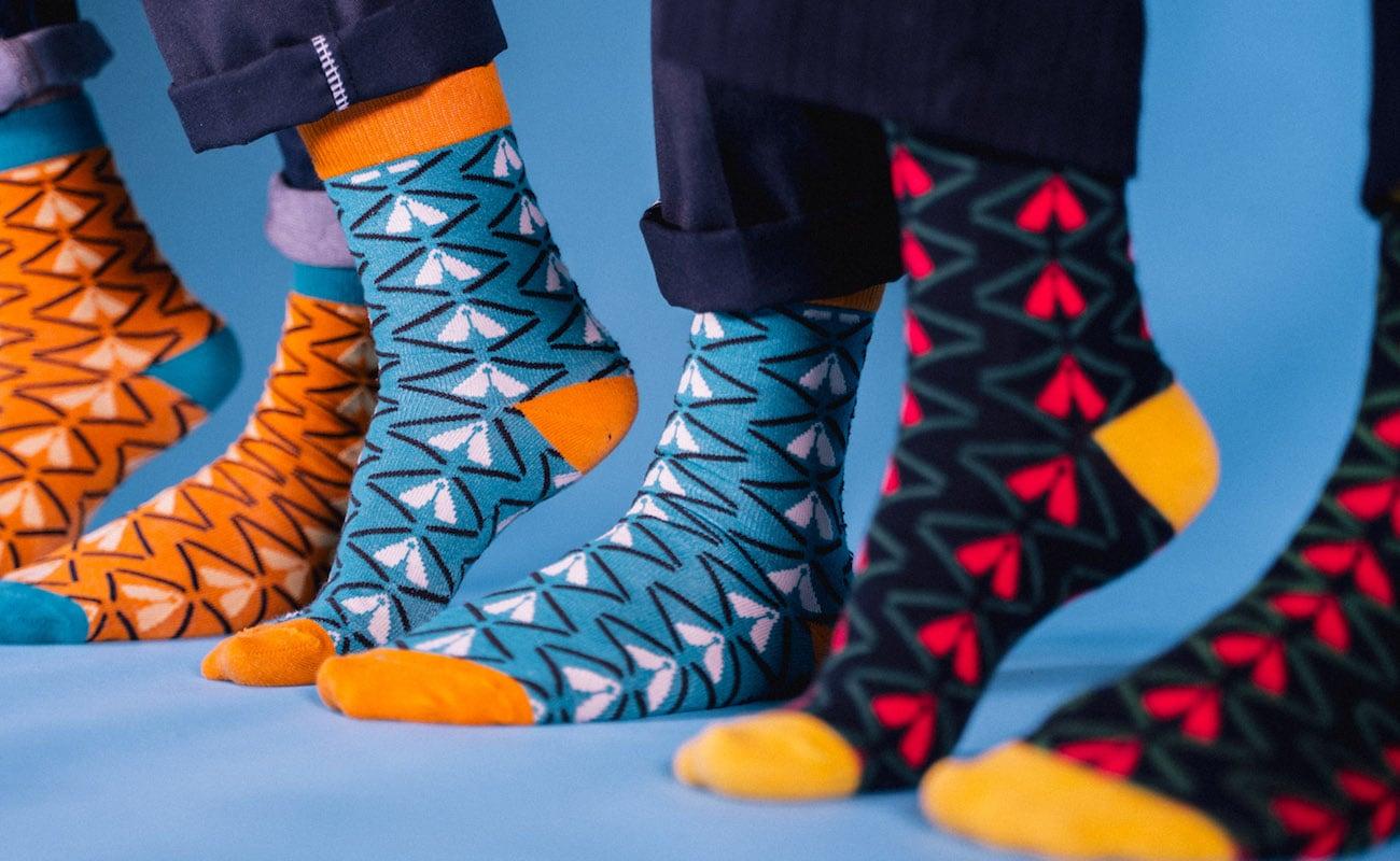 Akụkọ African Pride Bamboo Socks help your feet stay cool