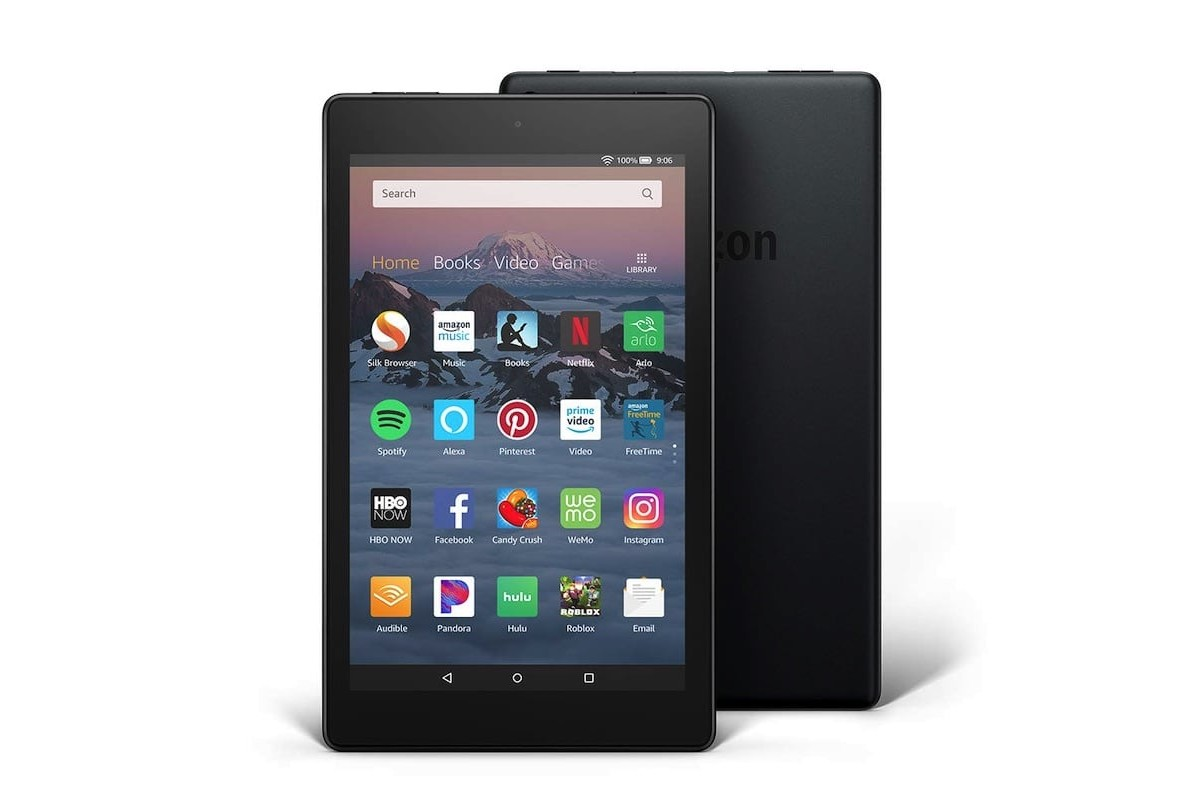 Amazon Fire HD 8 Alexa Tablet offers up to 10 hours of battery life