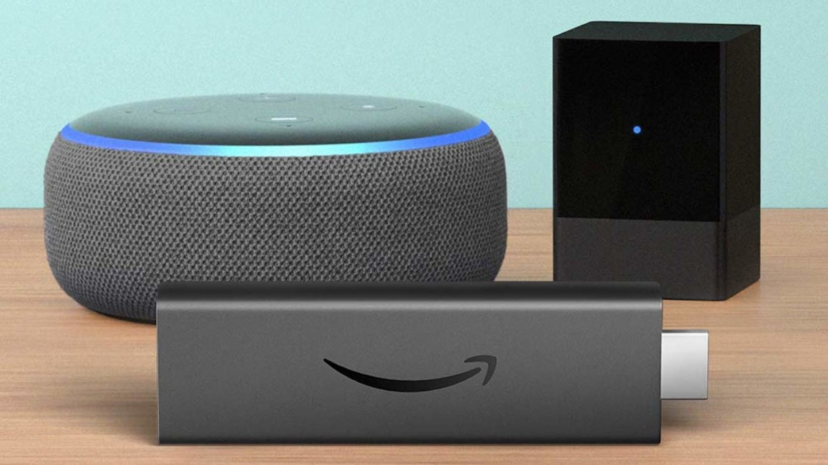 Amazon Fire TV Blaster Voice-Control Entertainment Device lets your media setup respond to Alexa
