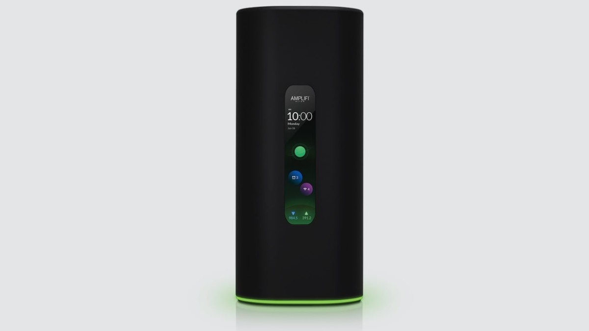 AmpliFi Alien Tri-Band Wi–Fi 6 Router increases your home network's coverage and capacity