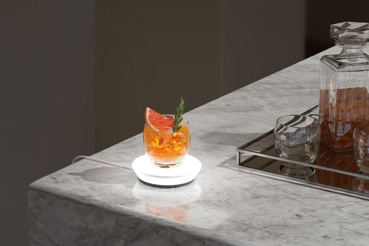 Barsys Drink-Measuring Coaster helps you get your cocktails just right