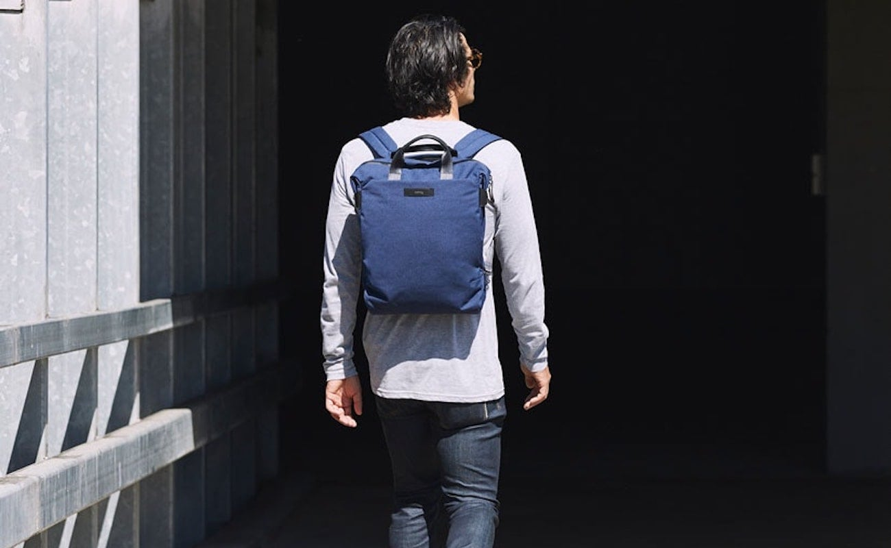 Bellroy Duo Totepack Computer Backpack holds a 15″ laptop and more