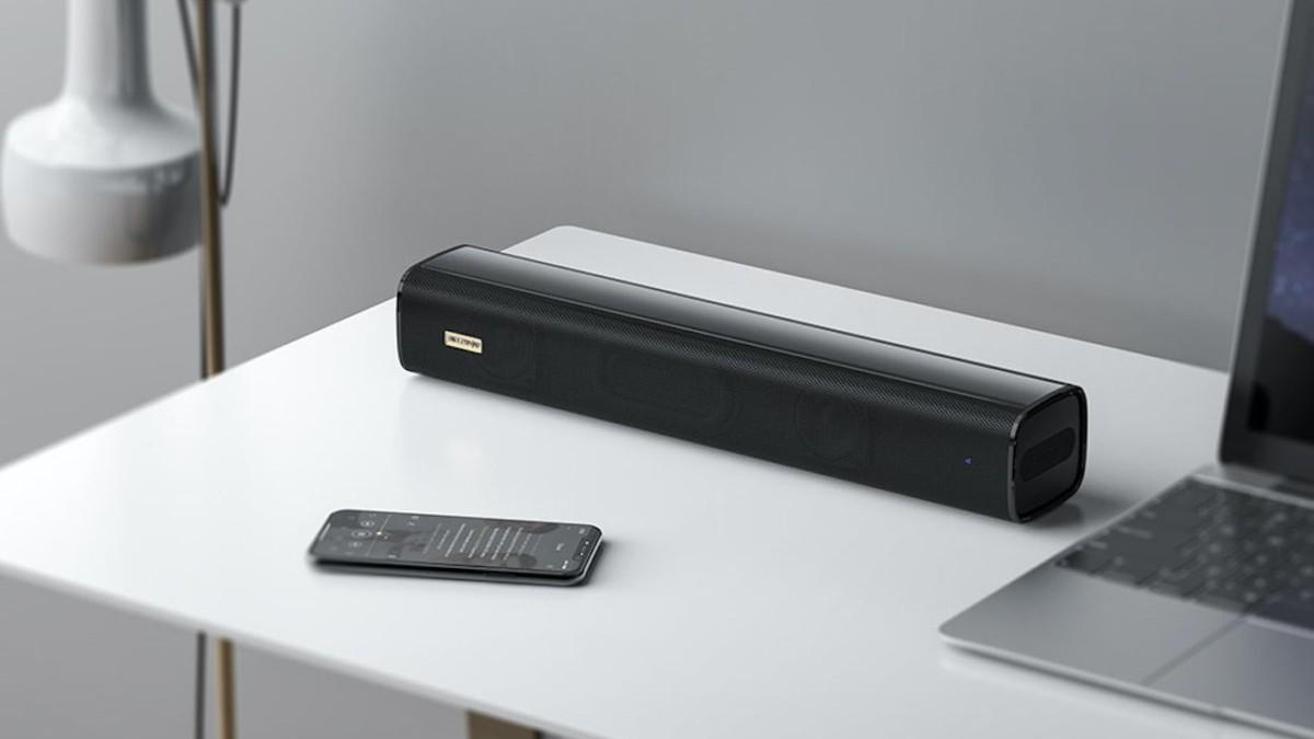 Blitzwolf BW-SDB0 Pro Mini Soundbar provides 3D stereo surround sound