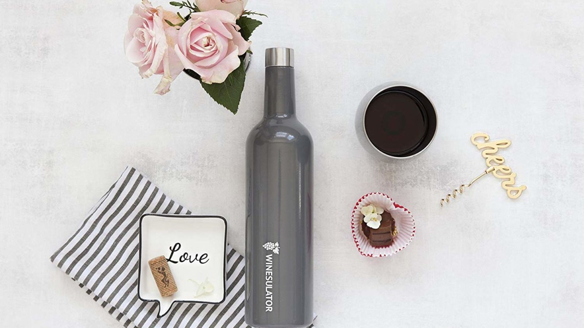 BrüMate Winesulator Insulated Wine Canteen keeps your beverage chilled for 24 hours