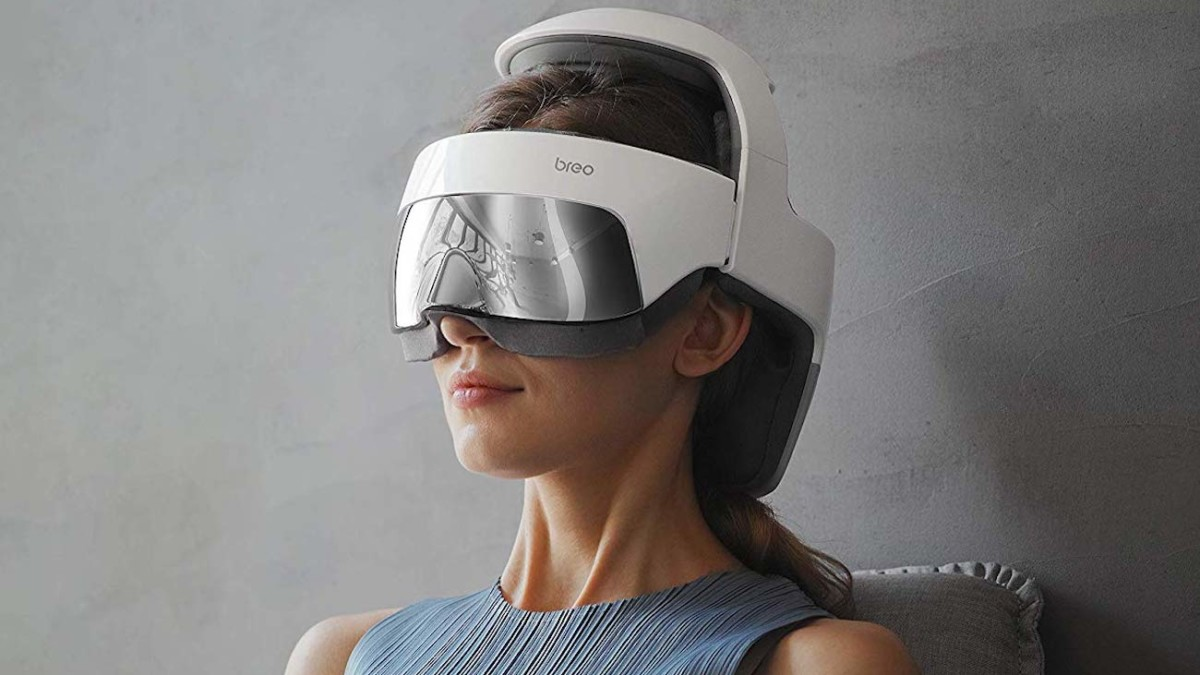 Breo iDream5 Heated Head Massager soothes high-pressure points to relieve stress