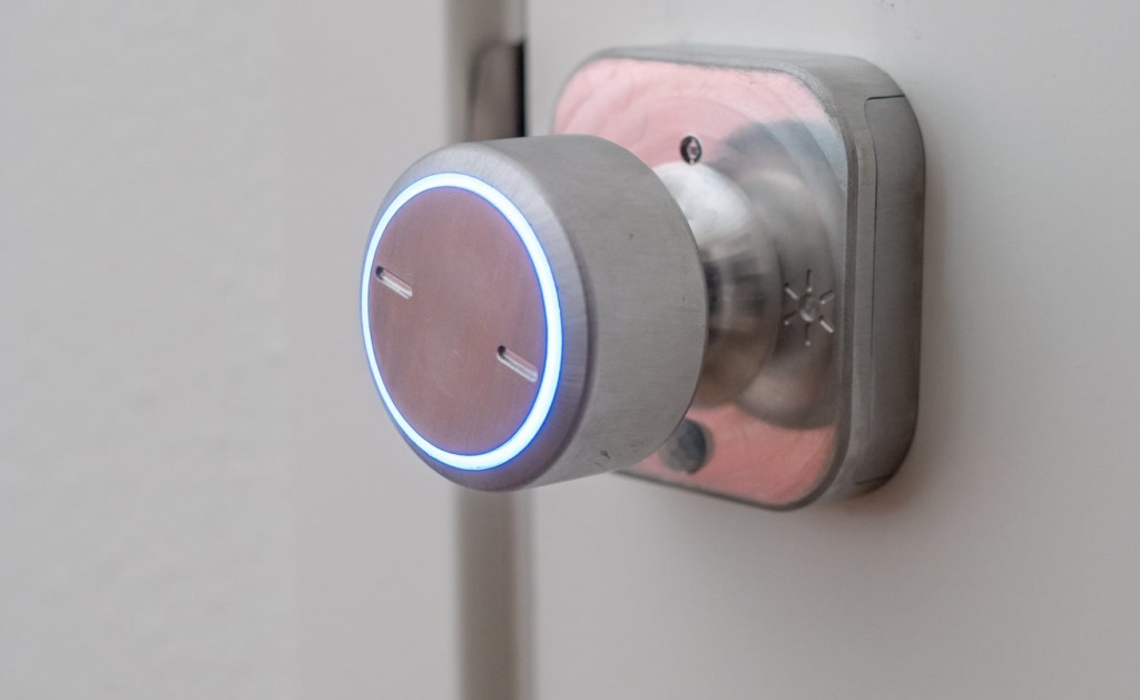 Bright Lock with activated LED lights